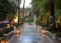 El Fenn Marrakech Garden Courtyard | Mr & Mrs Smith Top 5 Best Dressed Hotels | Est Magazine