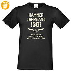 Geschenk zum Geburtstag :-: Geschenkidee Herren kurzarm Geburtstags-Sprüche  T-Shirt mit Jahreszahl :-: Hammer Jahrgang 1990 :-: Geburtstagsgeschenk  Männer ...