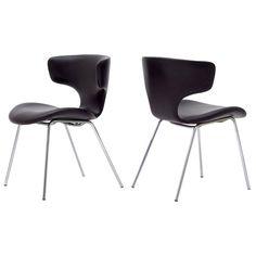 Pair of Isamu Kenmochi Chairs, Model S-3048m ca.1970's