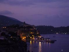 """Sera, Camera di """"Hotel Carasco"""", Isola Lipari Sicilia"""