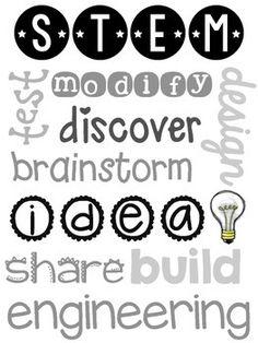STEM SUBWAY ART ~ TWO VERSIONS ~ FREE - TeachersPayTeachers.com