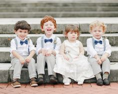 kids at the wedding | Kaylynn Marie