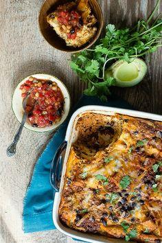 Chorizo and Black Bean Breakfast Casserole and The Greatest Casserole Recipes Ever