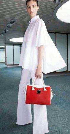 Giambattista Valli S/S 2015 ...all white outfit.