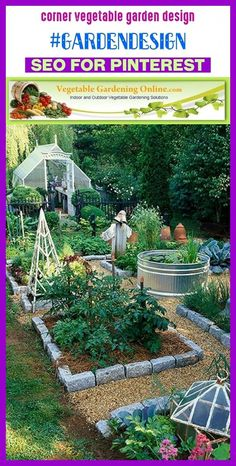 Precious Tips for Outdoor Gardens - Modern Backyard Vegetable Gardens, Small Backyard Gardens, Vegetable Garden Design, Back Gardens, Plastic Bottle Greenhouse, Dyi Flowers, Layout Design, Fall Vegetables, Growing Plants