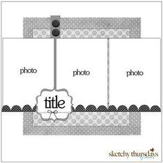 3 vertical photos