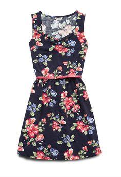 Fresh Floral Print Dress (Kids) | FOREVER21 #F21GirlsSpring
