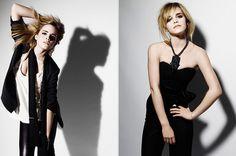 Emma Watson shot by RANKIN, styled by LAURA MICHAEL