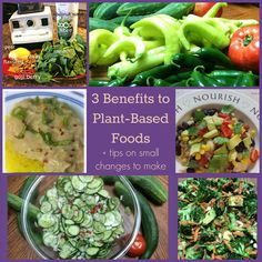 3 Benefits to eating more plant-based foods:  Eating dark leafy greens (like kale & spinach) helps your body produce new healthy copies of the cells that line artery walls, keeping your blood vessels relaxed. Which is a win for your heart! Replacing animal based proteins with plant-based proteins reduces the effects of bad …
