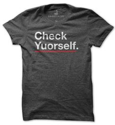 Check Yourself by Dan Horan. $20