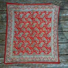 Turkey red bandana 1800s