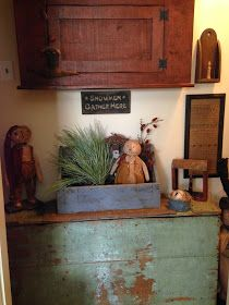 Green Creek Primitives: MY WINTER HOME