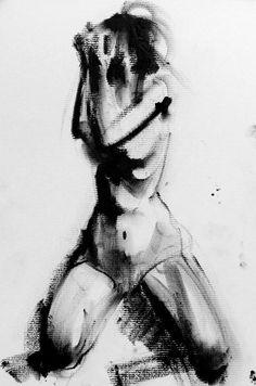 Falling Sketch No. 56 by claralieu on deviantART
