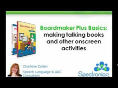 Boardmaker Plus Basics: Making talking books and other onscreen activities - YouTube