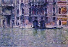 Claude Monet Palazzo Da Mula oil painting reproductions for sale