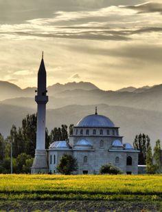 Mosque in Kochkor (Kyrgyzstan)