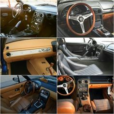 Custom Miata interiors... Revlimiter MC70...etc