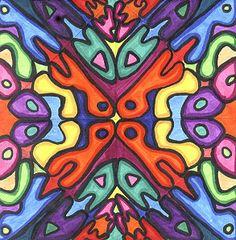 Name symmetry art