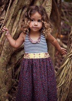 Halter Maxi Dress // Sweetheart Maxi with Ruffled Neckline