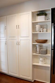 6th Street Design School | Kirsten Krason Interiors...... Shelf decor... Or above kitchen counters