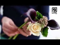 How to make a Bridal Bouquet, Wedding bouquet Bloomtube DIY - YouTube