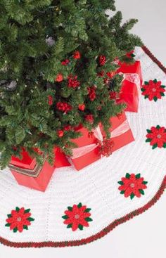 Crochet Tree Skirt Crochet Pattern