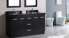 15 Black Rest Room Vanity Units , If we talk about colours for the home internal, nothing may just beat black and white 's versatility given that they are often paired with no matter... , Admin , http://www.listdeluxe.com/2016/03/01/15-black-rest-room-vanity-units/ ,  #bathroom #bathroomfurniture #bathroomvanity #blackbathroomvanity #blackvanity #vanityset, ,