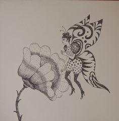 ViolanteVibora: Farfalla sul fiore
