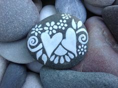 Together / White Zen series / Painted Rock / by LoveFromCapeCod