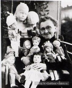 photo Kathe Kruse dolls