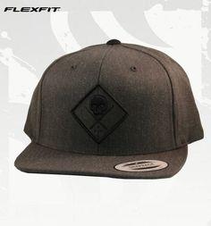 Snapback Hat SULLEN BADGE Grey Cap Hats by Sullen: New Era, Flexfit and Snapback NEW ERA Sullen Hat #hats #painfulpleasures #sullen #clothing #fashion #snapback #flexfit #newera