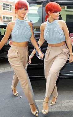Im not a big fan of Rihanna or her style but this is just so presh.