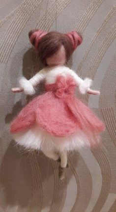 Best 11 Your projects — The Fono Arts and Crafts – SkillOfKing. Fairy Crafts, Felt Crafts, Needle Felted Animals, Felt Animals, Felt Puppets, Felt Angel, Wool Dolls, Needle Felting Tutorials, Felt Fairy