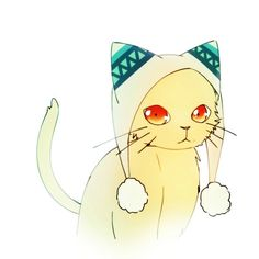 Yukine as a kitten.  Now all we need is Yato....or would he be a dog?