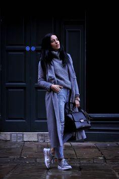 DSC_0107 Work Attire, Women Wear, Normcore, Lady, Coat, How To Wear, Jackets, Outfits, Design