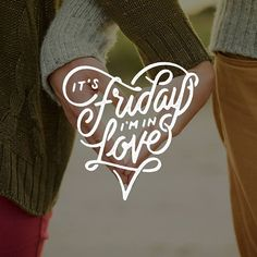"""""""It's Friday I'm in love"""" lyrics by The Cure; Mr Doodle"""
