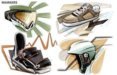 SKETCHBOOK by Pascal RUELLE, via Behance