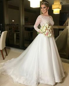 Wedding Dress With Veil, Weeding Dress, Gorgeous Wedding Dress, Modest Wedding Dresses, Wedding Party Dresses, Wedding Bride, Bridal Dresses, Christian Wedding Gowns, Latter Day Bride