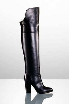 now thats an over the knee boot i could get behind! ralph lauren