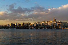 Photograph Galata tower at sunset by Ana-Cristina Dinu on Istanbul, New York Skyline, Tower, Sunset, Photography, Travel, Sunsets, Photograph, Viajes