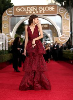 Serve it to us, Zendaya. (from 'The Most Gorgeous Gowns on the 2016 Golden Globes Red Carpet')