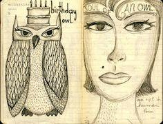 teesha's circus: another drawing journal