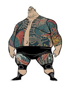 in Big Hero 6 in der frühen Entwicklung war er - Charakter Design Cartoon Big Hero 6, Fat Character, Character Concept, Concept Art, Desenho Tattoo, Character Design References, Creature Design, Character Illustration, Cartoon Characters
