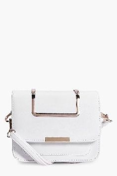 boohoo Metal Handle Structured Cross Body Bag - white Serena Metal Handle Structured Cross Body Bag - white http://www.MightGet.com/january-2017-13/boohoo-metal-handle-structured-cross-body-bag--white.asp