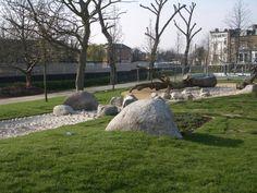 Cantelowe's Park Playground, Camden, Farrer Huxley, 2009 Park Playground, Natural Playground, Outdoor Play, Camden, Bouldering, Landscape, Nature, Playgrounds, Thursday