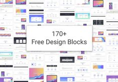 Design blocks are the building blocks for creating beautiful websites. Froala Design blocks consists of over 170 free blocks based on Bootstrap 4.