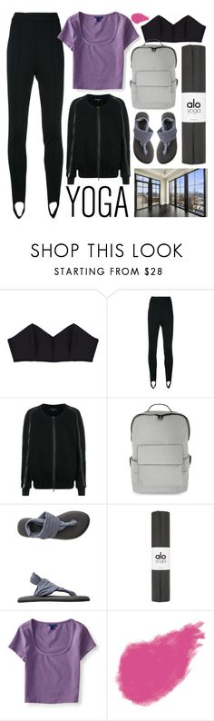 """yoga concept"" by foundlostme ❤ liked on Polyvore featuring Marni, Ann Demeulemeester, ALDO, sanuk, Aéropostale, Bobbi Brown Cosmetics and yoga"