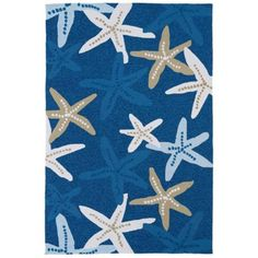 Kaleen Matira MAT04-17 Blue Indoor/Outdoor Rug from @Lamps Plus