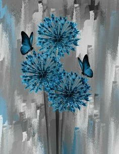 What is Your Painting Style? How do you find your own painting style? What is your painting style? Butterfly Art, Flower Art, Butterflies, Art Flowers, Flowers Bunch, Simple Butterfly, Butterfly Pictures, Flowers Garden, Blue Flowers