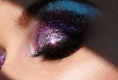 purple glitter<3 #mirabellabeauty #purple #eyes